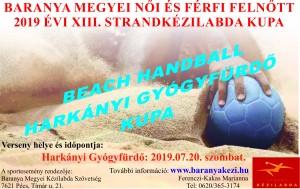 2019. Harkányi Strandkézilabda Kupa